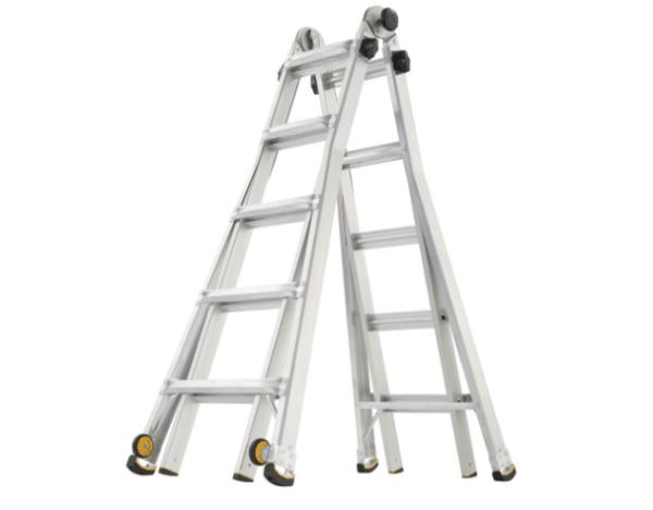 Gorilla Ladders 22 Ft Aluminum Multi Position Ladder 99