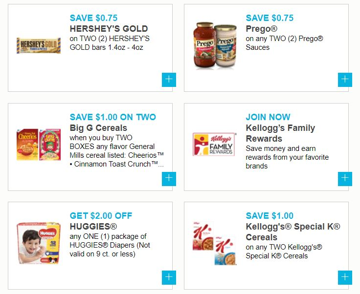 photograph about Prego Printable Coupons identify Fresh Printable Coupon codes Hersheys, Kelloggs Cereal, Gerber