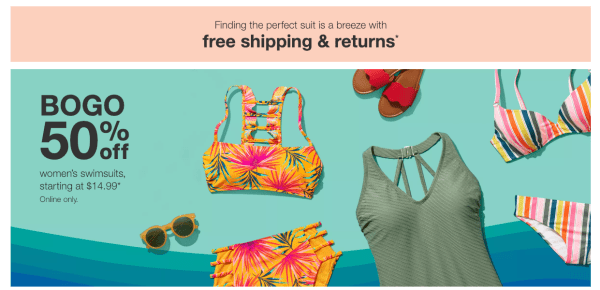 ceda54827c73e BOGO 50% Off Women's Swimwear at Target - My DFW Mommy