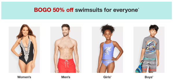bac4dd7fd5 BOGO 50% Off Swimwear for the Whole Family at Target - My DFW Mommy