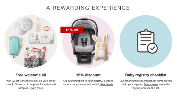 Free $100 Welcome Bag From Target With Baby Registry