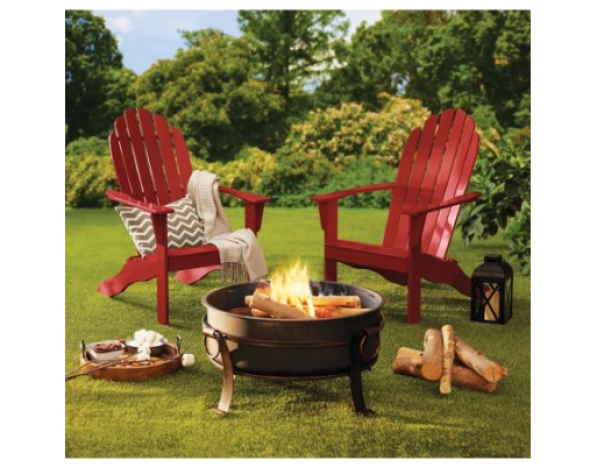 Mainstays Wood Adirondack Chair 67 Shipped My Dfw Mommy