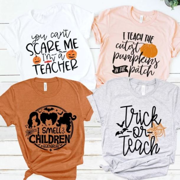 Halloween 2020 In Dfw This Weekend With Children Teacher Halloween Tees $17.99 Shipped (Retail $27.99)   My DFW Mommy