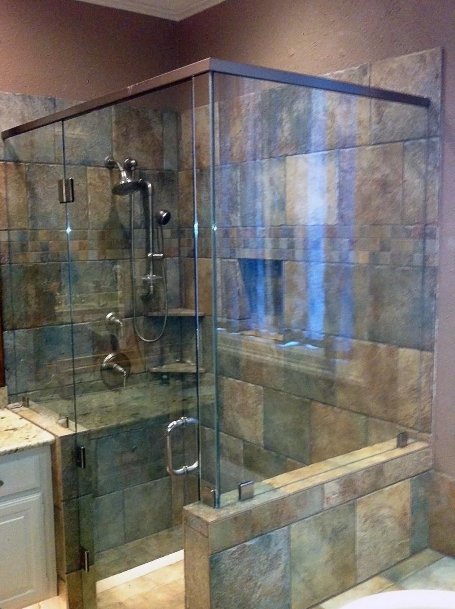 Custom Glass Shower Doors Amp Enclosures Metroplex Windows Amp Glass
