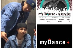 my Houseplus AMADI Japan Tour 2016 ダンスセッション