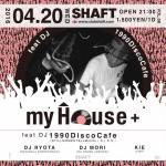 ハウスミュージック イベント 仙台 myHouse;