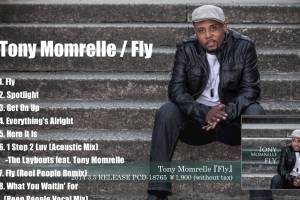 Tony MomrelleのFlyのCDジャケット