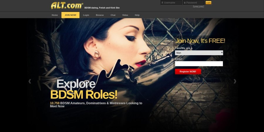 Alt.com Explore BDSM roles dating review