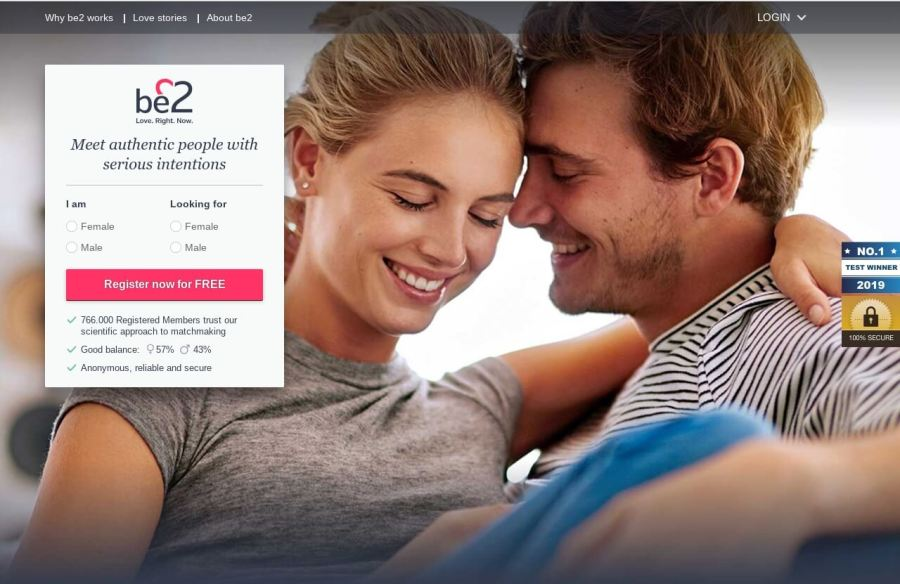 be2 dating site review