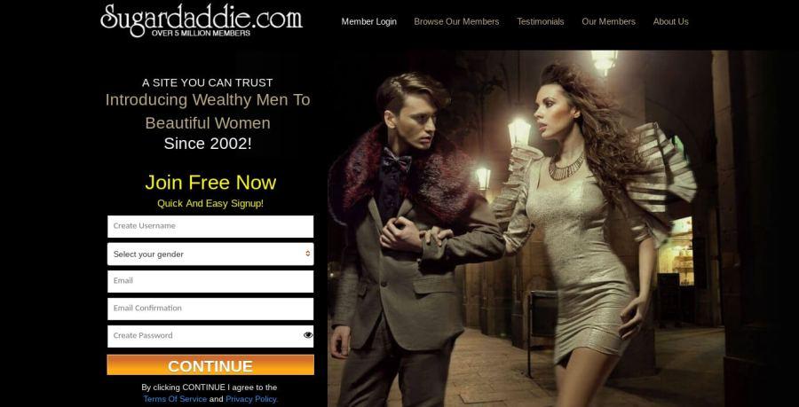 sugardaddie.com sugar daddy dating site review