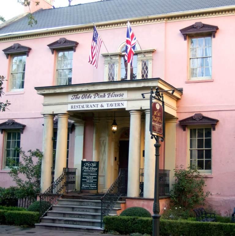 Olde Pink House, Savannah, Georgia