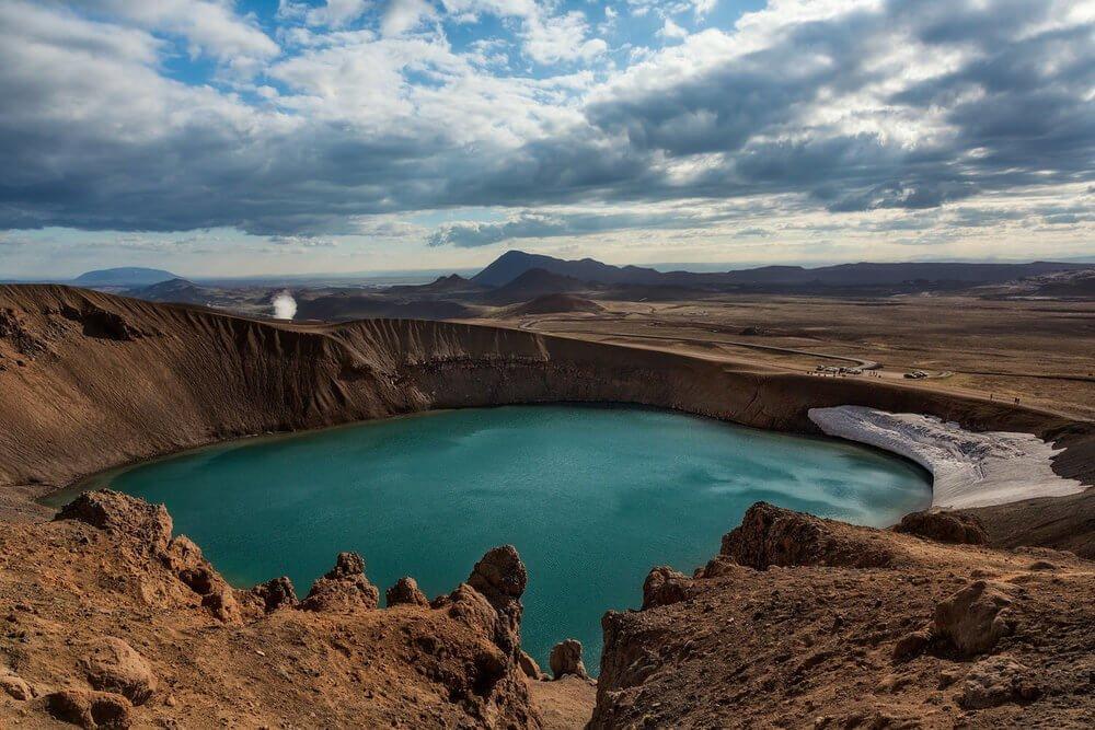 Iceland, Askja, Viti Crater