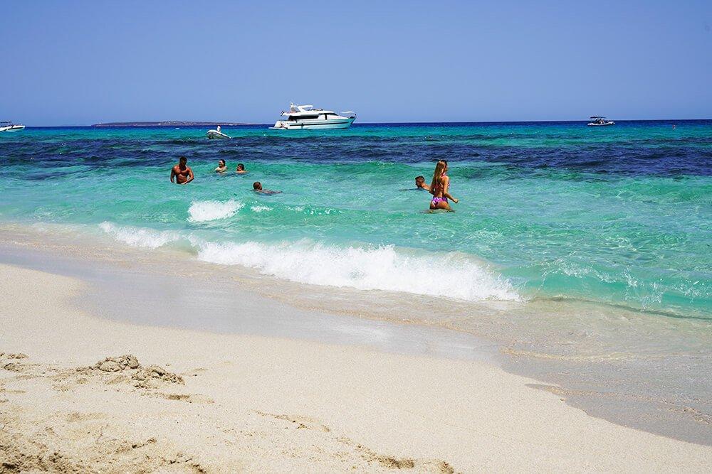 Playa de Levante, Formentera, Spain