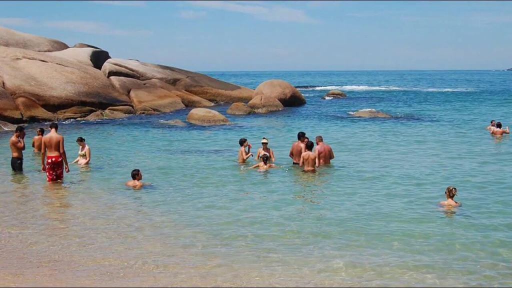 Praia da Galheta, Florianopolis, Brazil, Nude Beach