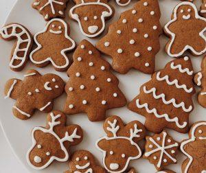 christmas cookies gingerbread men