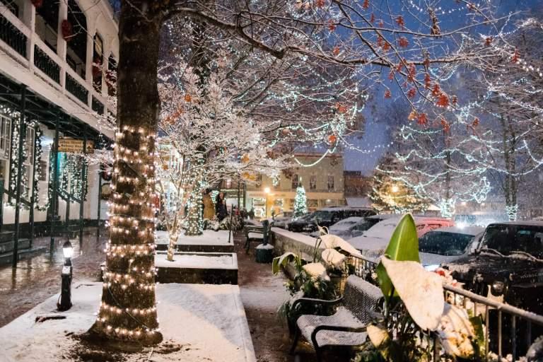dahlonega georgia old fashioned christmas