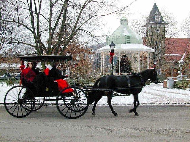 ligonier pennsylvania christmas town