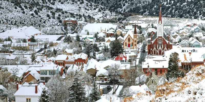 virginia city nevada christmas on the comstock