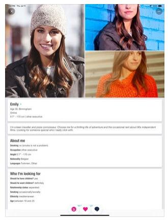 match.com uk profile woman