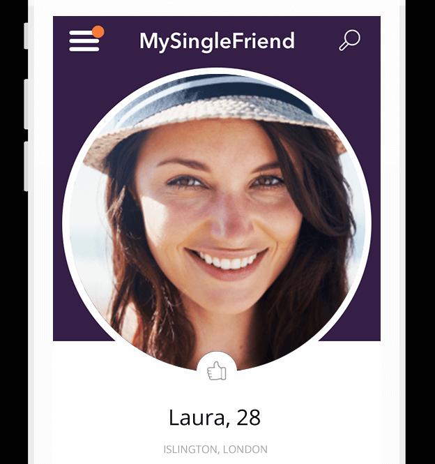 mysinglefriend app profile