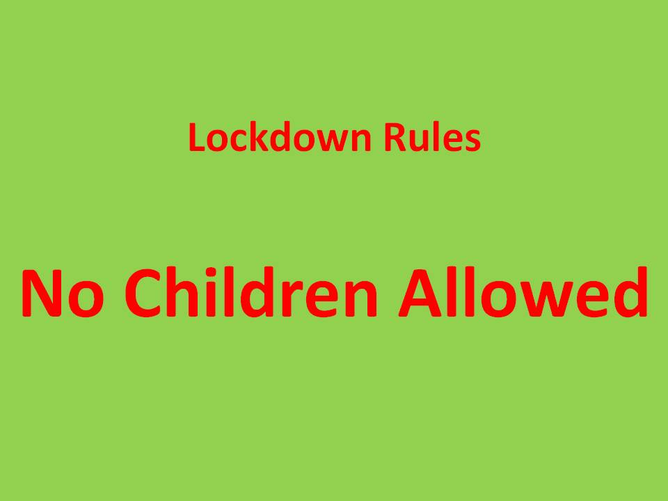 Why Lockdown For Children Below The Age Of 10 Years Continues