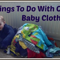 Things to do with old baby clothes