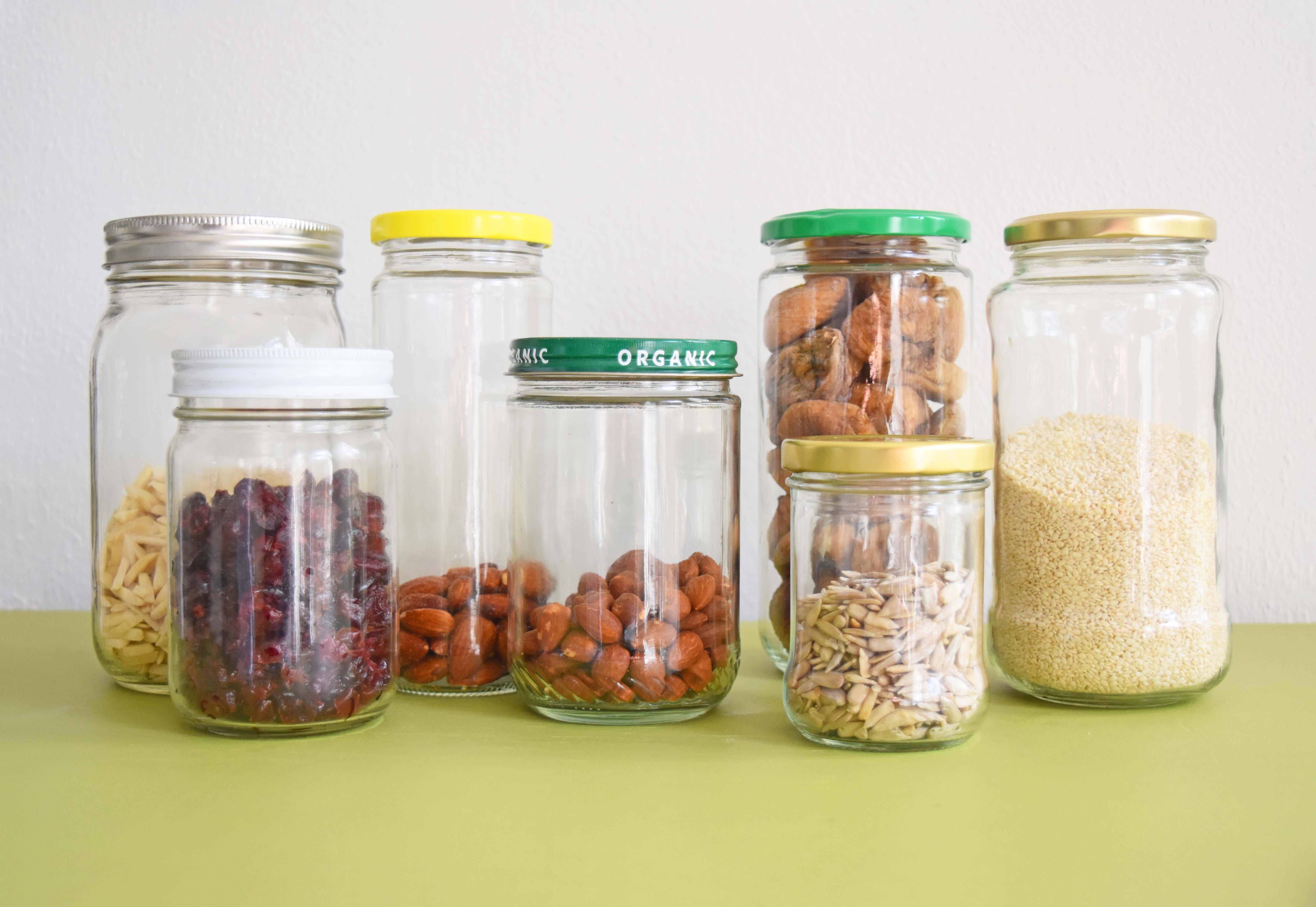 138676ecda5e The (19) Ways I Reuse Food Glass Jars Around My Home | Once Again ...