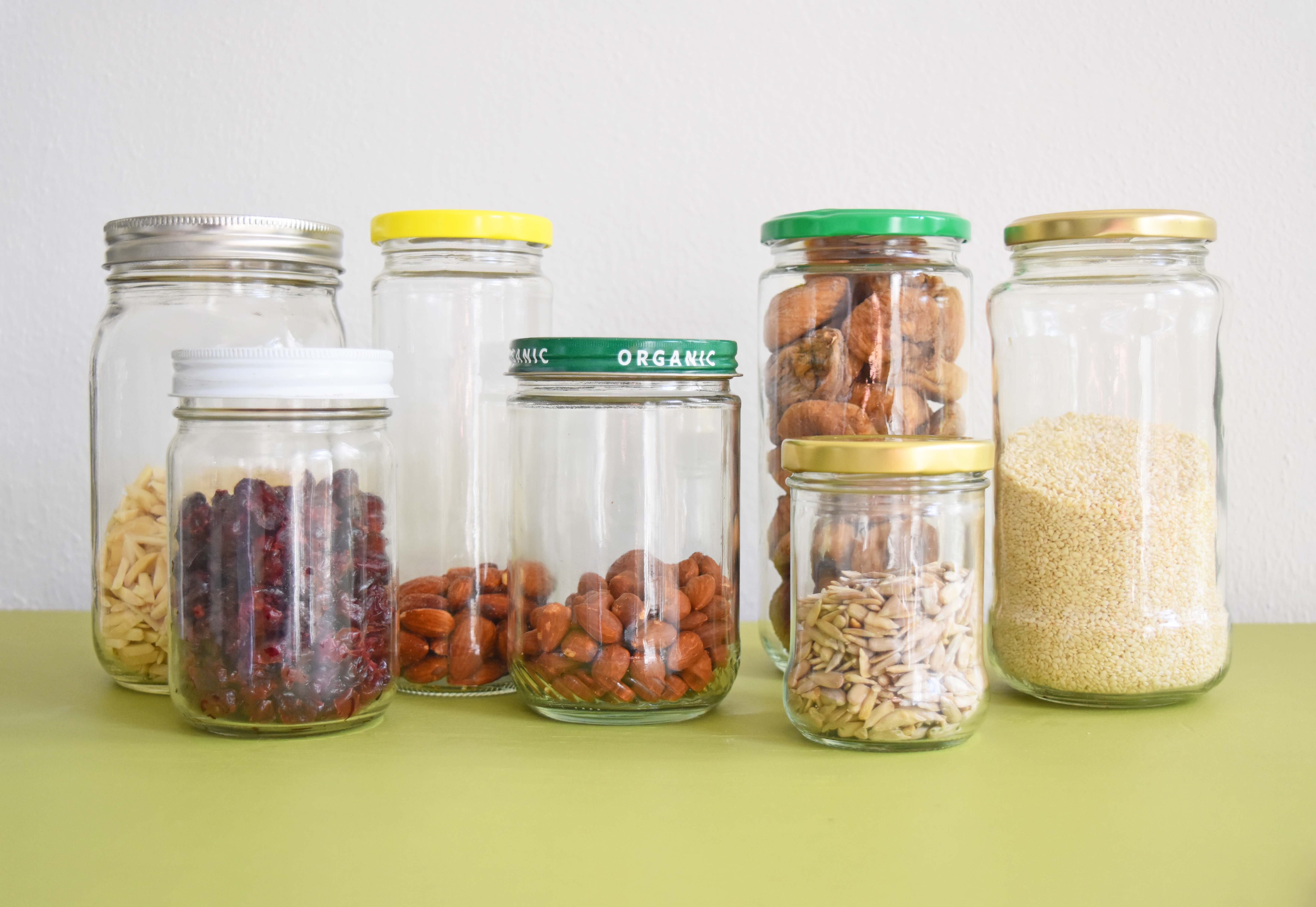 The 19 Ways I Reuse Food Glass Jars Around My Home Once Again My Dear Irene