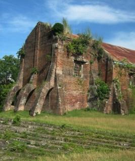 Backside of Iguig Church ... start of the Iguig Calvary Church