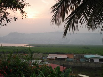 View from our backyard in Freetown