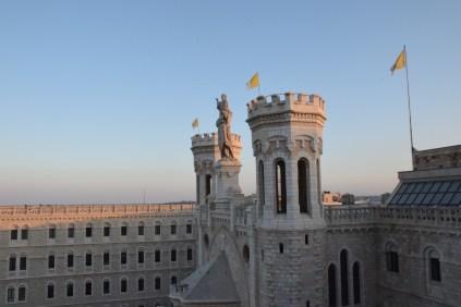 Mary and Jesus overlooking Jerusalem