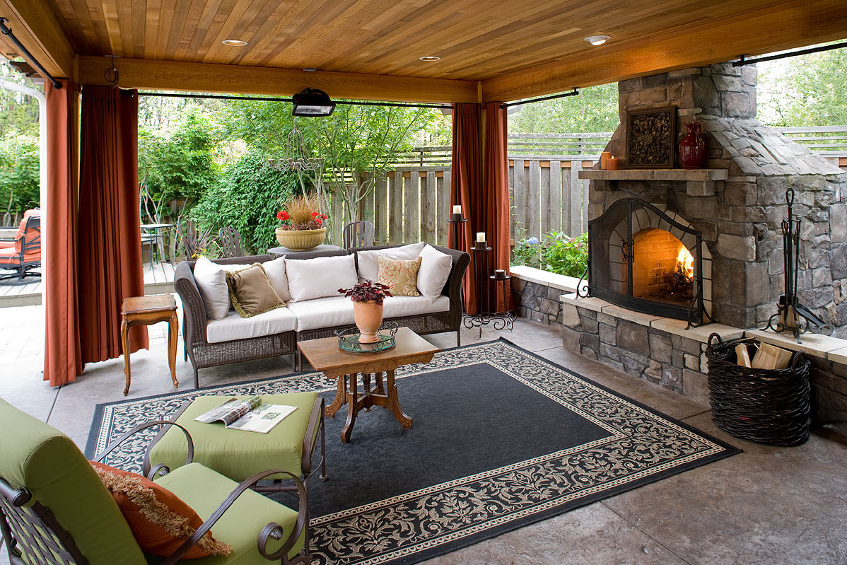How To Create The Perfect Outdoor Living Space For Your Home My Decorative