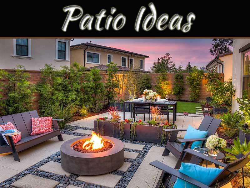 simple patio ideas for suburban homes