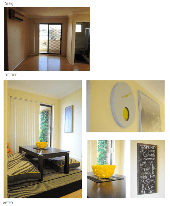 Dining - Before and Afters