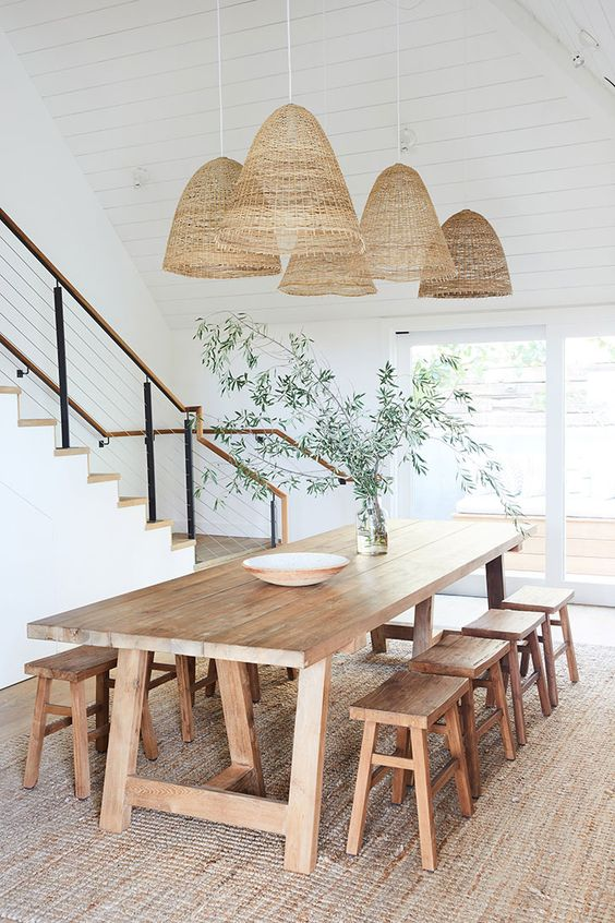 dining room with natural touch