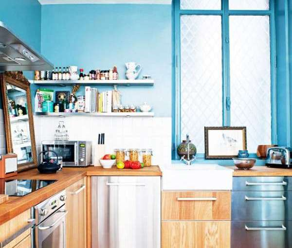 Kitchen design ideas: color and textures