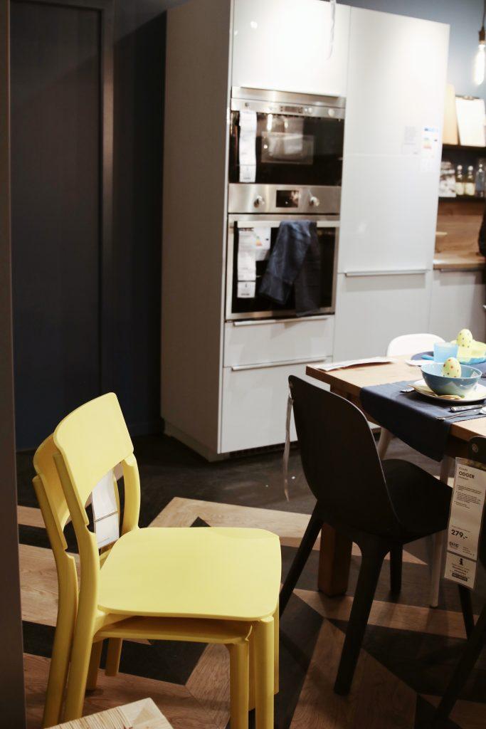 Krzesła IKEA JANINGE