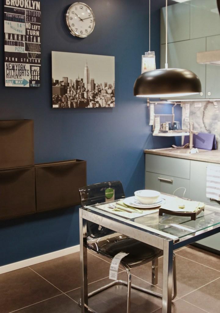 Industrialna lampa do jadalni IKEA metal