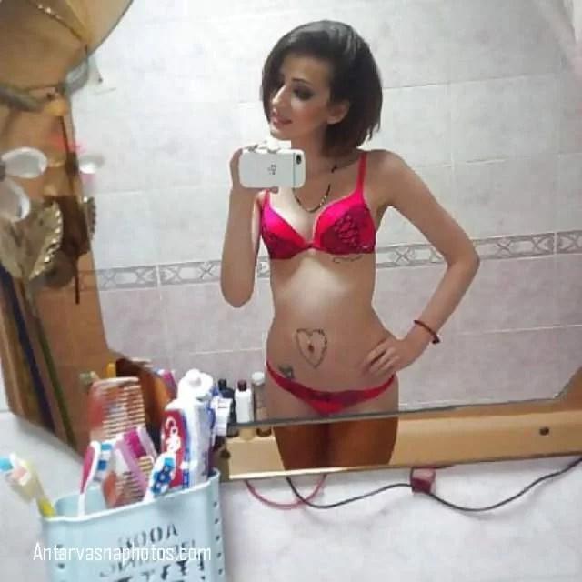 beautiful NRI teen hot selfie