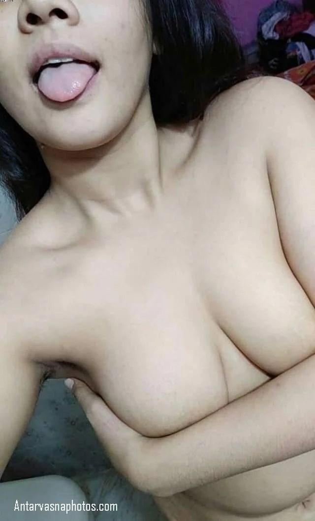 sexy desi girlfriend jeeb dikhati