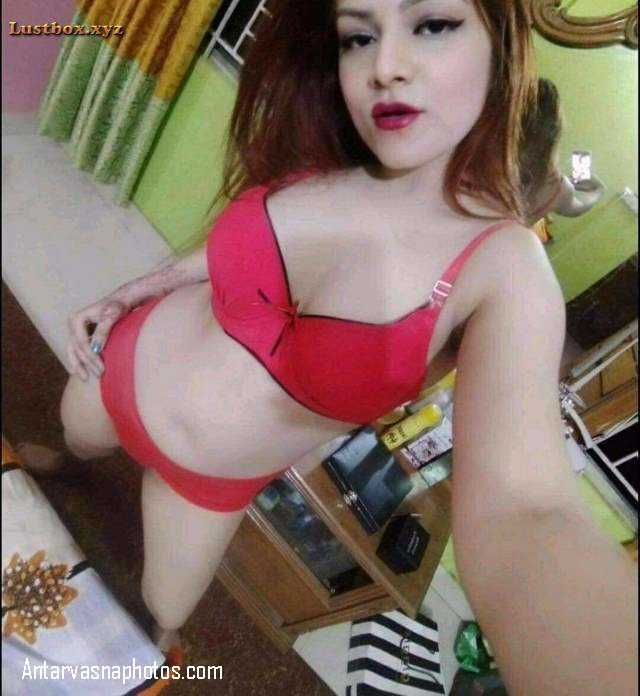 sexy red bra panty me hot babe