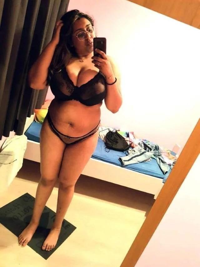 black bra panty trial