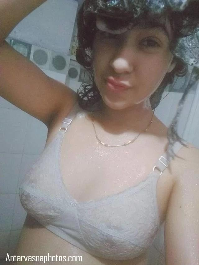 shower me nahati selfie