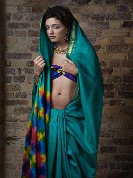 sexy saree me hot babe