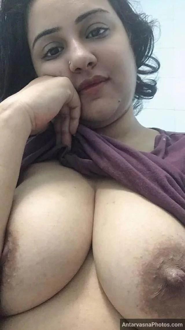top utha apne boobs dikha premi ko seduce karti aunty