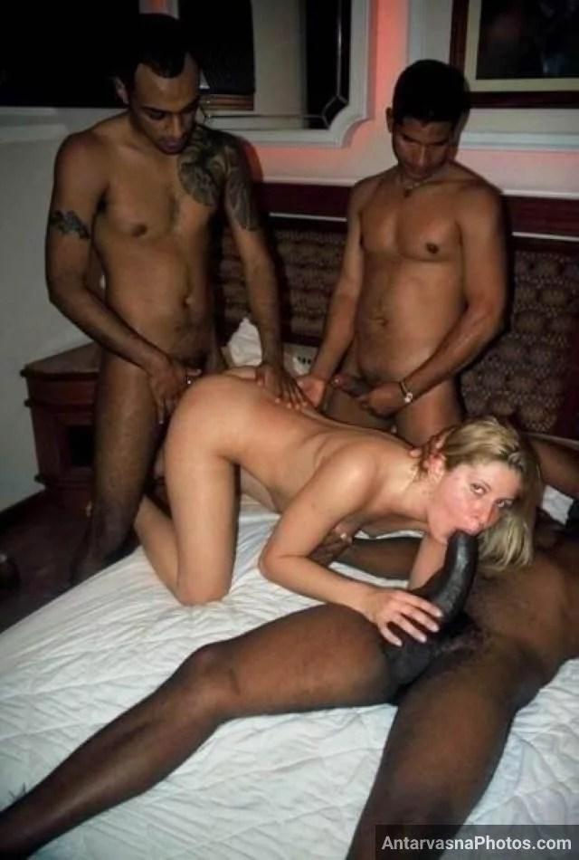 white bitch enjoying black big cock