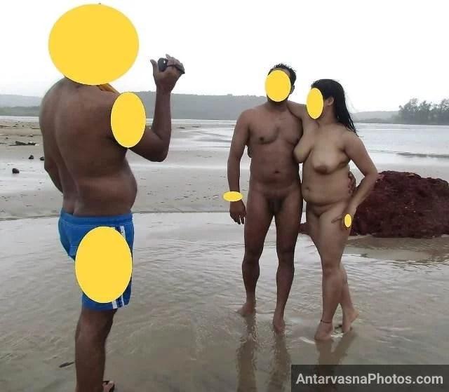 beach me nude hot photos click karwate desi sexy couple