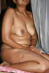 naked wife teasing