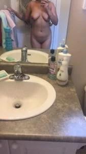 naked NRI Desi girl