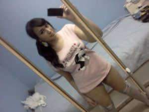 hot indian teen selfie without pant
